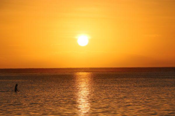 coucher de soleil Saint-Leu